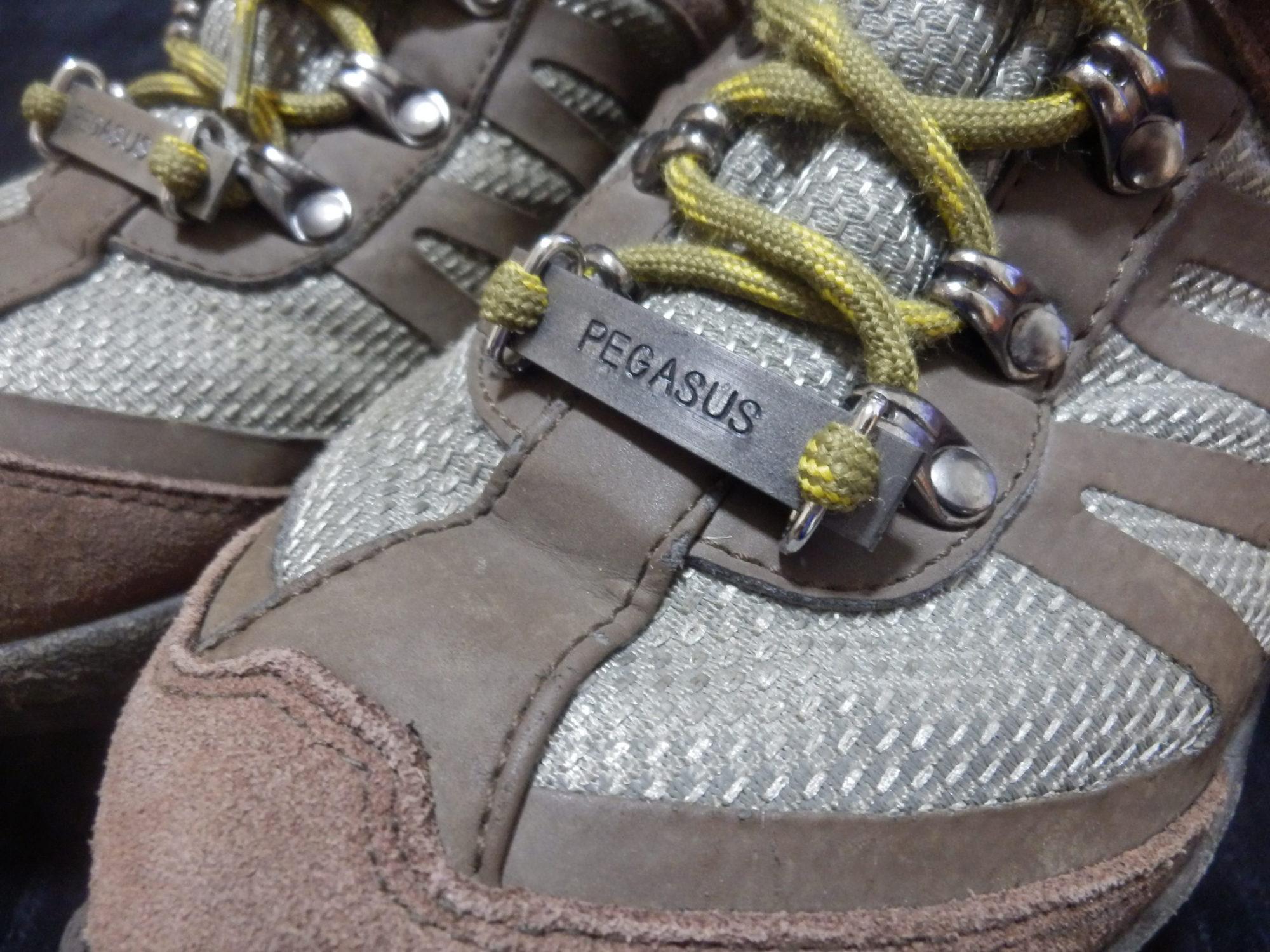 登山靴ネームプレート、シューズプレート
